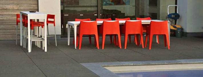 Vijf tips voor het onderhoud van uw terrastegels