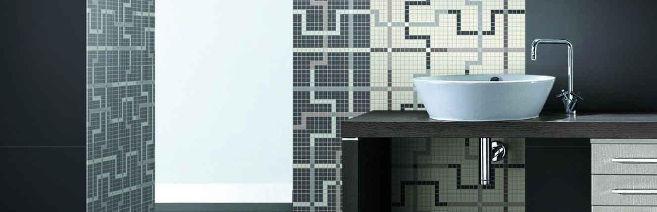 Carrelage en mosaïque pour la salle de bains