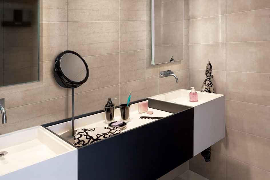 badkamer betegeling Archives - Intercarro | Tegels, natuursteen en ...