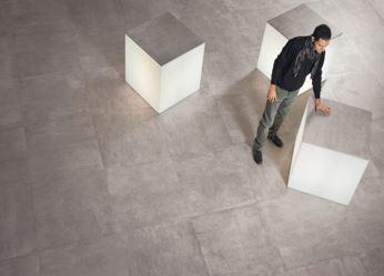 Volkeramische tegels - betonimitatie