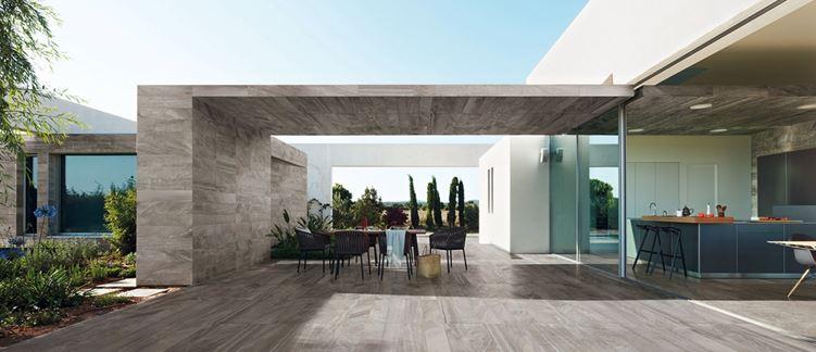 Terrastegels wat zijn de mogelijkheden intercarro tegels natuursteen en parket - Buitenkant terras design ...