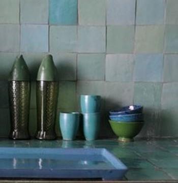 carrelage marocain un air de m diterran e. Black Bedroom Furniture Sets. Home Design Ideas