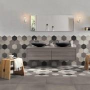 Trouvez un carrelage facile d'entretien pour votre salle de bain
