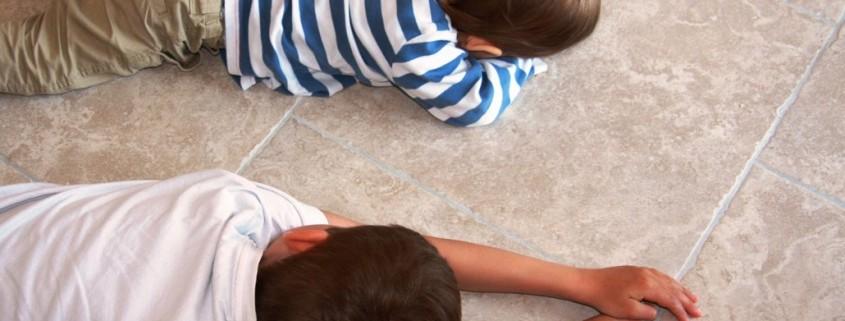 Quelles dalles de carrelage pour vos enfants ?