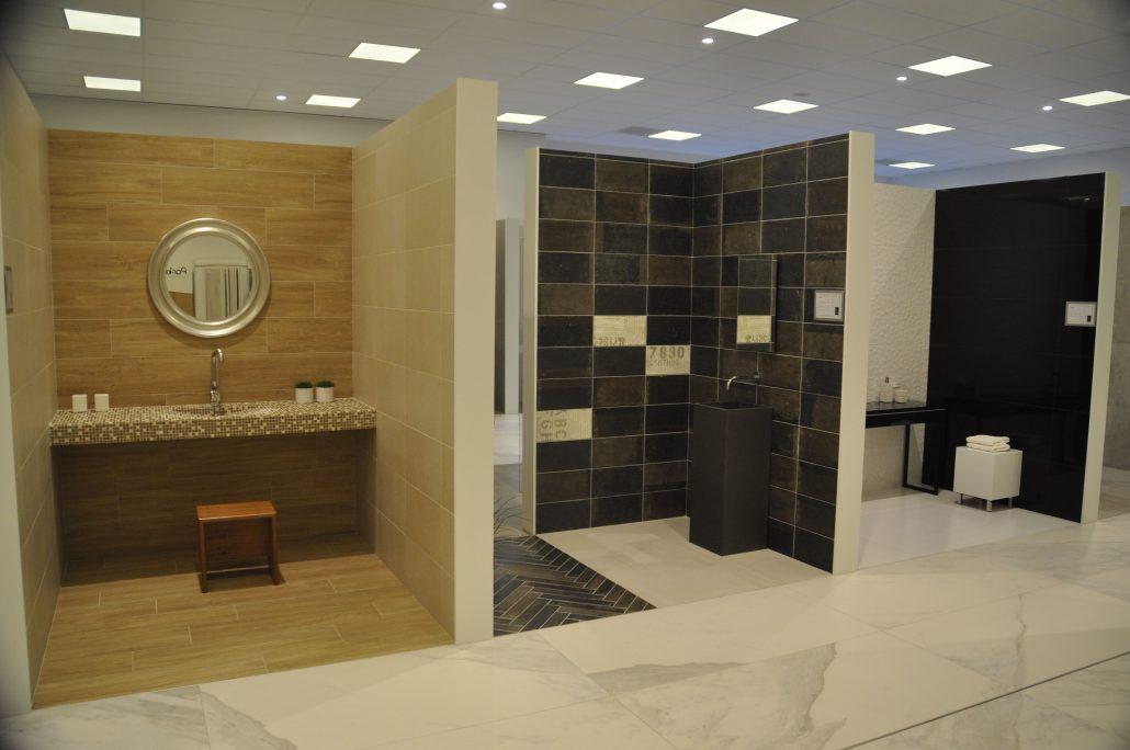 Showroom Antwerp - Intercarro | Tegels, natuursteen en parket