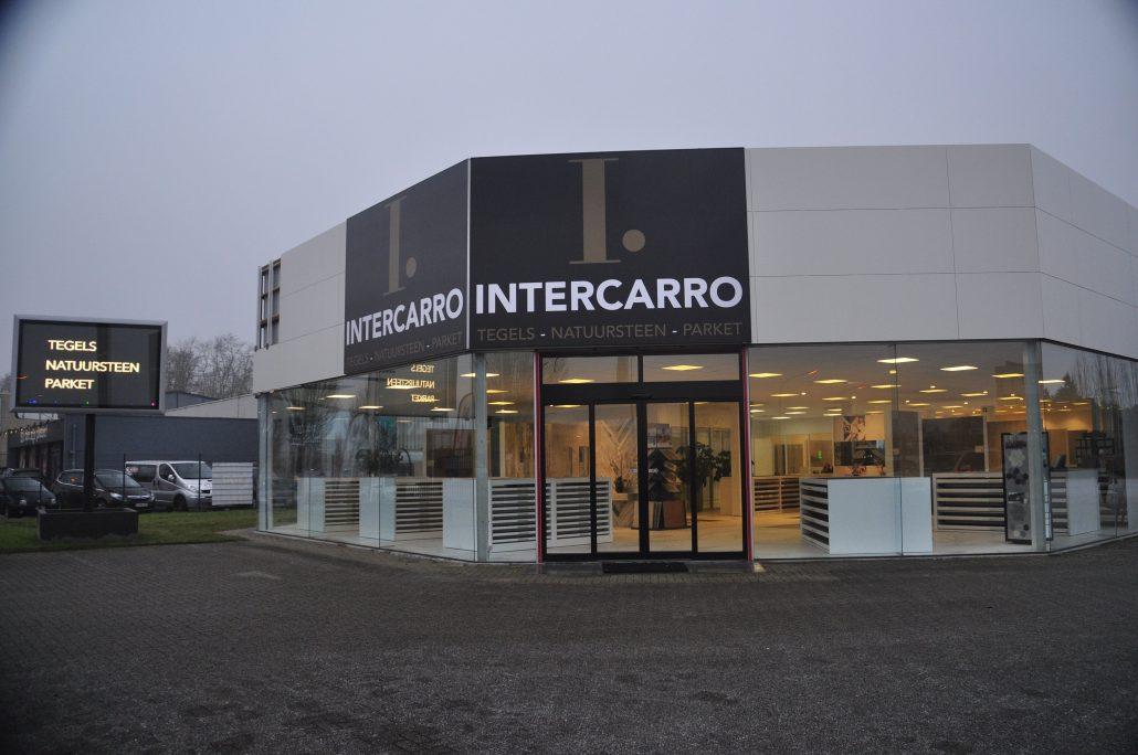 Intercarro Antwerpen toonzaal