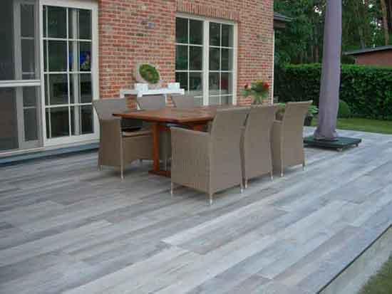 keramische terrastegel houtlook
