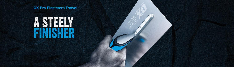 OX pro plasterers trowel